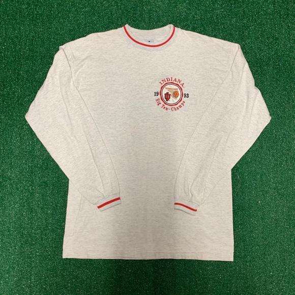 Vintage Other - Vintage 1993 Big Ten Champs Indiana Hoosiers Tee